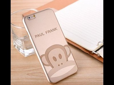 Силиконовый чехол для iPhone 6/6S Gold Paul Frank sotovikmobile.ru +7(495) 005-94-13