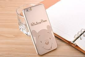Силиконовый чехол для iPhone 6/6S Gold Winnie the Pooh sotovikmobile.ru 8(495)005-94-13
