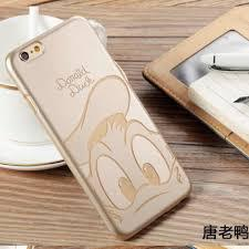 Силиконовый чехол для iPhone 6/6S Gold Donald Duck sotovikmobile.ru +7(495)617-03-88