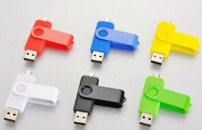 OTG-microUSB flash drive Samsung 32Gb Green sotovikmobile.ru +7(495) 005-94-13