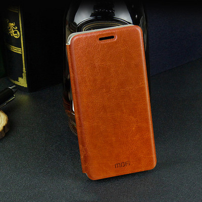 Mofi Чехол-книжка для Samsung Galaxy Note 5 Brown sotovikmobile.ru 8(495)005-94-13