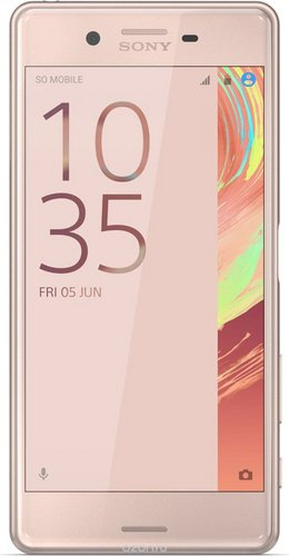 Sony Xperia X Performance Dual Rose Gold sotovikmobile.ru +7(495) 617-03-88