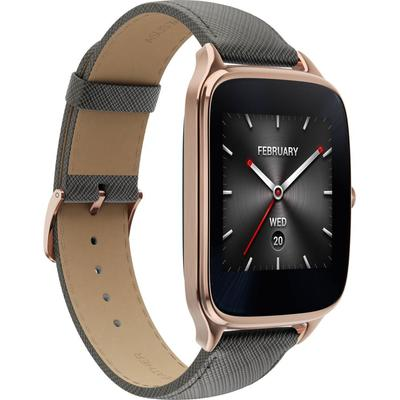 Asus ZenWatch 2 (WI501Q) leather Grey sotovikmobile.ru +7(495) 005-94-13