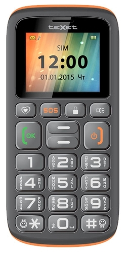 TeXet TM-B115 Black-Orange sotovikmobile.ru +7(495) 005-94-13