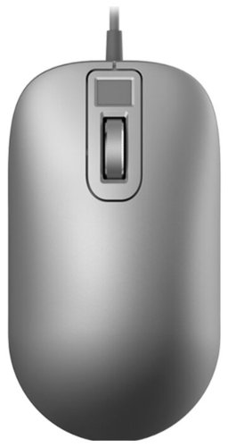 Jesis Smart Fingerprint Mouse Silver USB