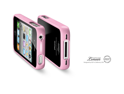 iPhone 4(4S) Linear Crystal Series (Sherbet Pink) sotovikmobile.ru +7(495) 005-94-13
