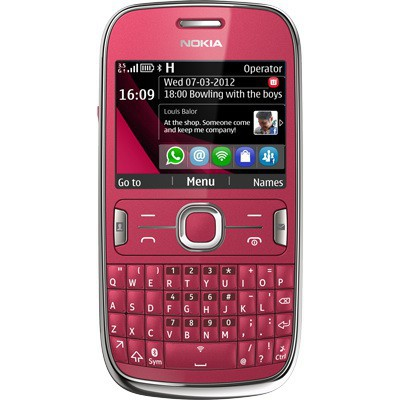 Nokia Asha 302 Red sotovikmobile.ru +7(495) 005-94-13