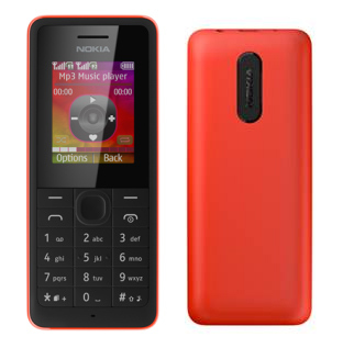 Nokia 107 Red sotovikmobile.ru +7(495) 005-94-13