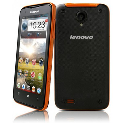 Lenovo  IdeaPhone S750 (уценка, после ремонта) Black-Orange sotovikmobile.ru +7(495) 005-94-13