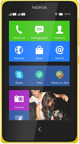 Nokia XL Dual Yellow sotovikmobile.ru +7(495) 005-94-13