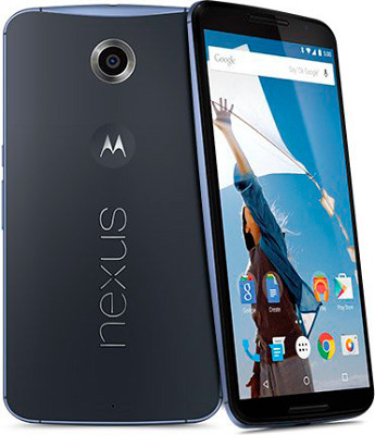 Motorola Nexus 6 32Gb Blue sotovikmobile.ru +7(495) 005-94-13