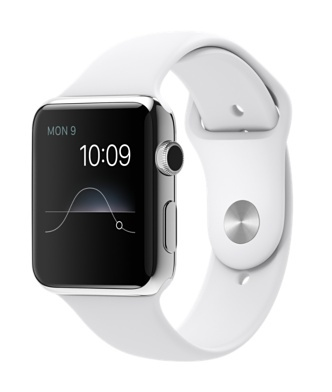 Apple Watch Series 1 38mm with Sport Band White sotovikmobile.ru 8(495)005-94-13