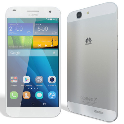 Huawei Ascend G7 Duos Silver sotovikmobile.ru 8(495)005-94-13
