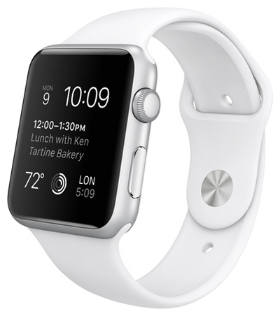 Apple Watch Series 1 42mm with Sport Band White sotovikmobile.ru +7(495)617-03-88