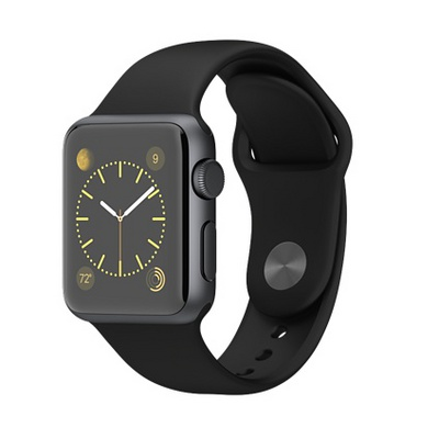 Apple Watch Sport 38mm with Sport Band (MJ2X2) Grey sotovikmobile.ru +7(495)617-03-88