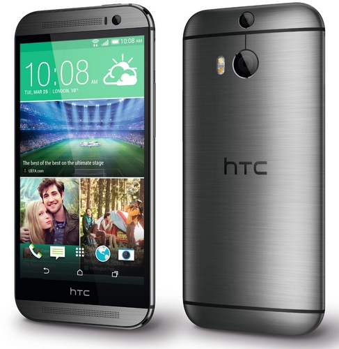 HTC One M8 Dual sim (LTE) Grey sotovikmobile.ru +7(495) 005-94-13