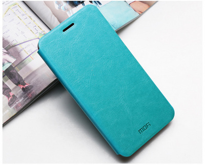 Mofi Чехол-книжка для Meizu MX4 Blue sotovikmobile.ru +7(495)617-03-88