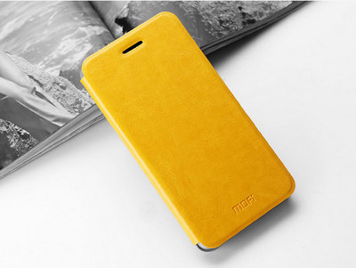 Mofi Чехол-книжка для Huawei Honor 7 Yellow sotovikmobile.ru +7(495) 005-94-13