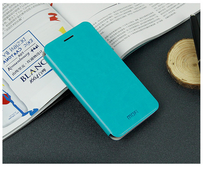 Mofi Чехол-книжка для Huawei Honor 6 Blue sotovikmobile.ru 8(495)005-94-13