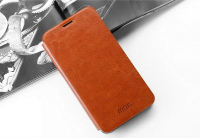 Mofi Чехол-книжка для Xiaomi Mi3 Brown sotovikmobile.ru +7(495)617-03-88