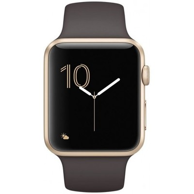 Apple Watch Series 1 42mm with Sport Band gold/cocoa sotovikmobile.ru +7(495)617-03-88