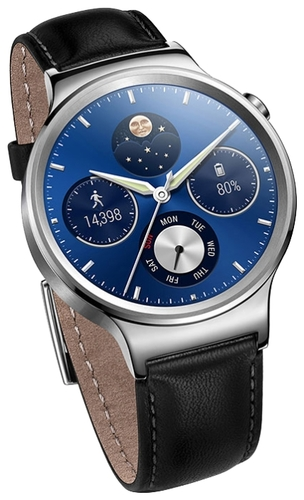 Huawei Watch Genuine Leather Strap Black sotovikmobile.ru +7(495) 005-94-13