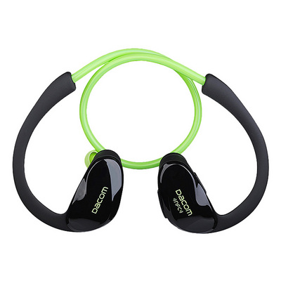 Dacom Bluetooth гарнитура Athlete c NFC Green sotovikmobile.ru +7(495) 005-94-13