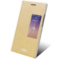 Mofi Чехол-книжка для Huawei Ascend P7 Gold sotovikmobile.ru +7(495) 005-94-13
