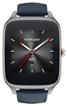 Asus ZenWatch 2 (WI501Q) leather Dark Blue sotovikmobile.ru +7(495)617-03-88