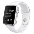 Apple Watch Sport 42mm with Sport Band White sotovikmobile.ru 8(495)005-94-13