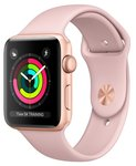 Apple Watch Series 3 38mm Aluminum Case with Sport Band Gold/Pink sotovikmobile.ru +7(495) 005-94-13