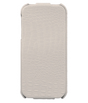IHUG Чехол - книжка IHUG Lychee для iPhone 5/5S White sotovikmobile.ru +7(495) 005-94-13