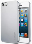 чехол для Apple iPhone 5(5S) Silver sotovikmobile.ru +7(495) 005-94-13