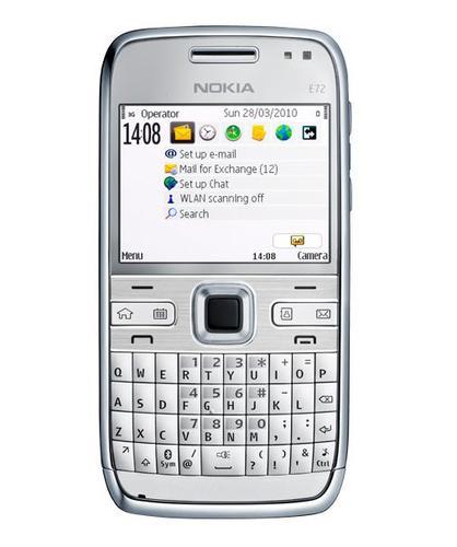 Мобильный телефон Nokia e72 NAVI Zircon White.