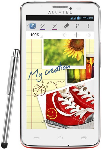 Сотовый телефон Alcatel Scribe Easy 8000D Red