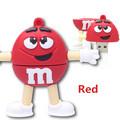 USB-flash 16Gb M&M Red